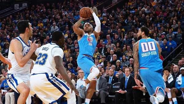 Durant, Curry, dan Thompson Absen, Warriors Dikalahkan Kings