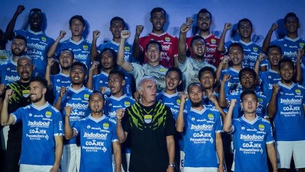 Persib Perkenalkan Skuat untuk Arungi Liga 1 2018