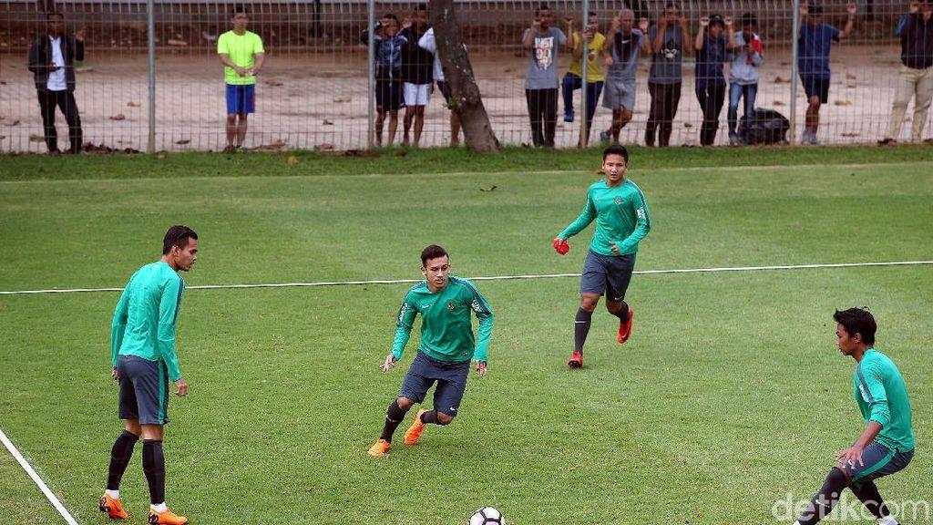 Timnas U-23 Antisipasi Bola Mati Singapura