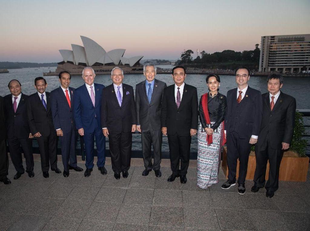 ASEAN-Australia Serukan Stabilitas di Laut China Selatan