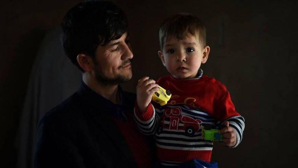 Foto: Ini Bayi Donald Trump yang Bikin Heboh Afghanistan