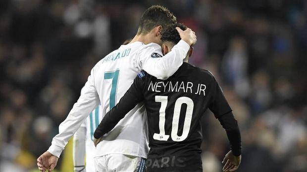 Rivalitas Ronaldo vs Neymar bisa terjadi tanpa Lionel Messi.