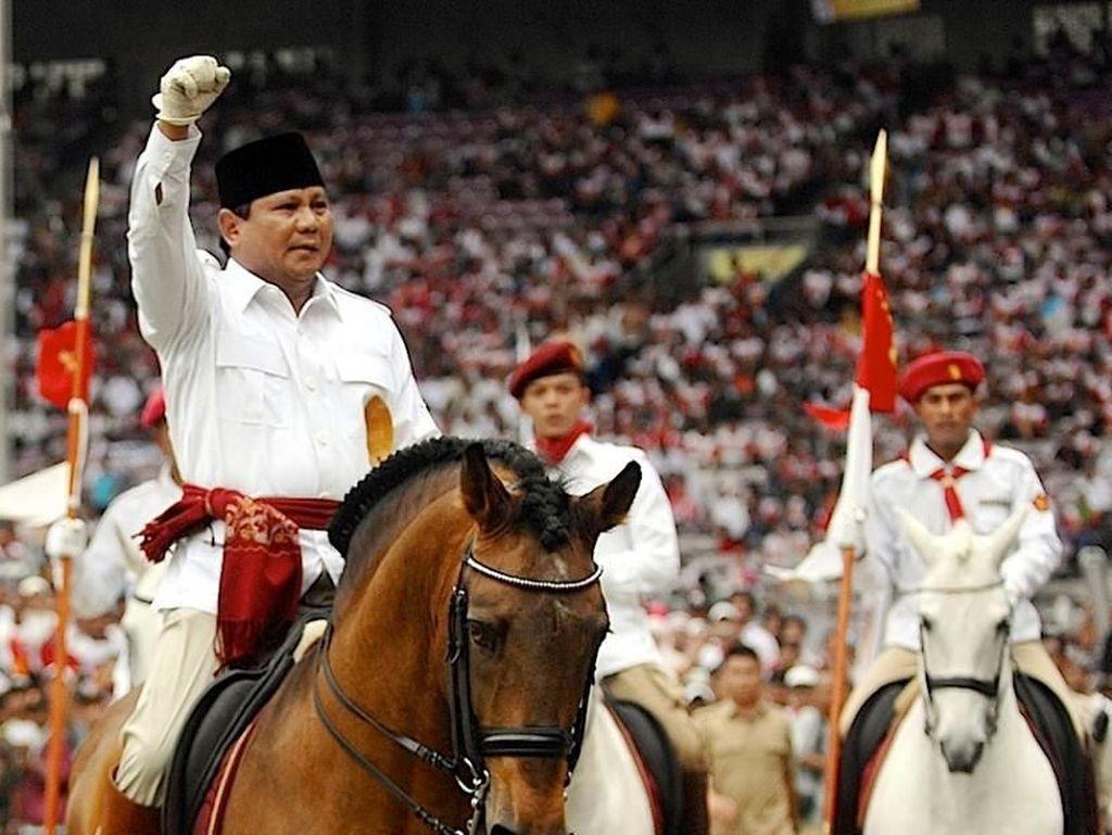 Habib Rizieq Buka Peluang Nyapres, Gerindra: Prabowo Harga Mati