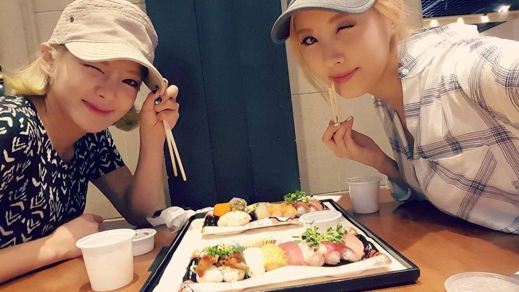 Tetap Cantik! Lihat 10 Momen Member SNSD Saat Bersama Makanan