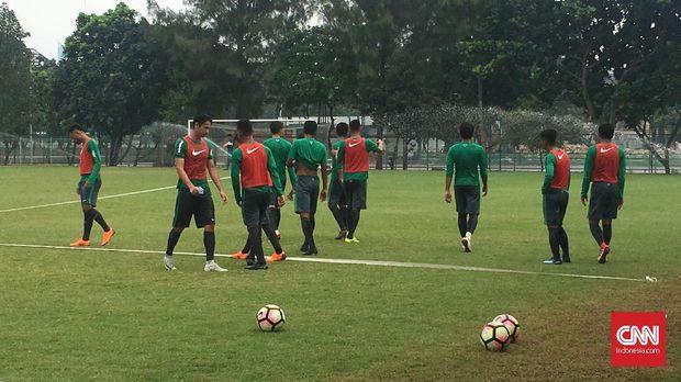 Timnas Indonesia U-23 jalani laga uji tanding sebagai persiapan menuju Asian Games 2018.
