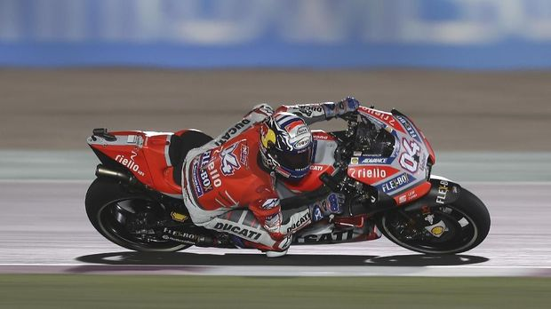 Andrea Dovizioso pantas difavoritkan meraih kemenangan di MotoGP Qatar.