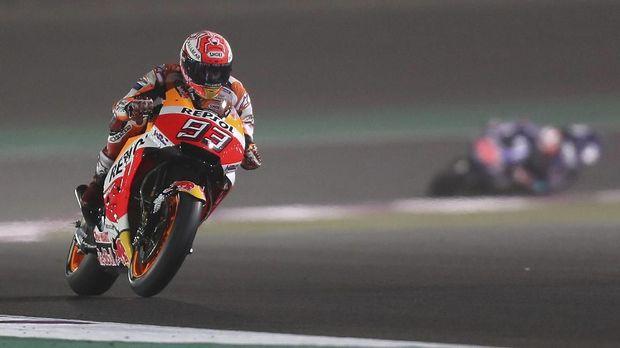 Marc Marquez tampil tanpa cela di MotoGP Amerika Serikat.