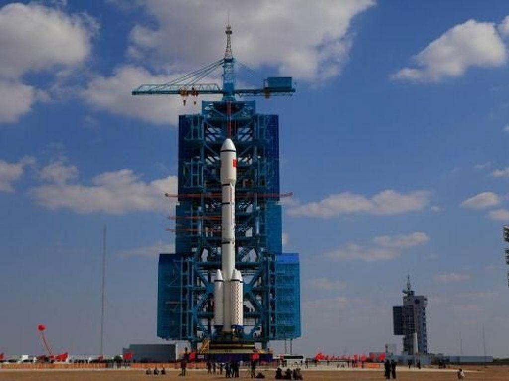 Kondisi Stasiun Antariksa China Sebelum Jatuh ke Bumi