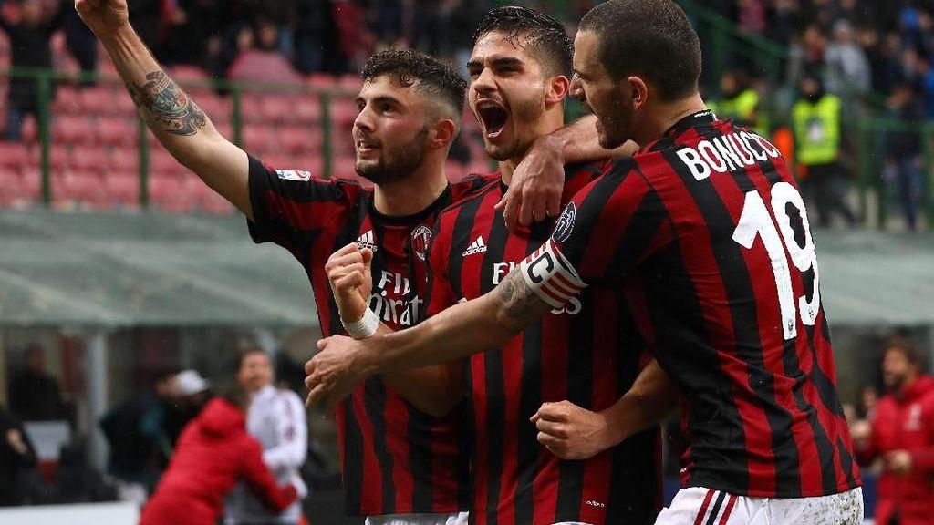Comeback, Milan Kalahkan Chievo 3-2