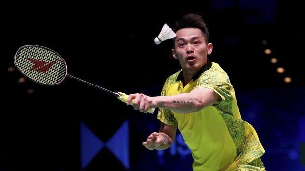 Lin Dan atlet badminton yang masih aktif di lapangan. (