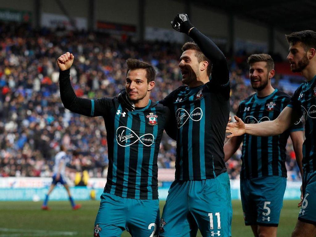 Singkirkan Wigan, Southampton ke Semifinal Piala FA