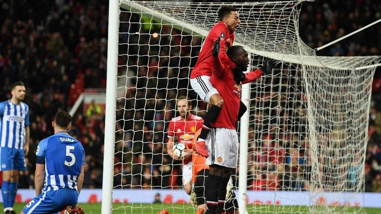 Lukaku dan Matic Loloskan MU ke Semifinal Piala FA