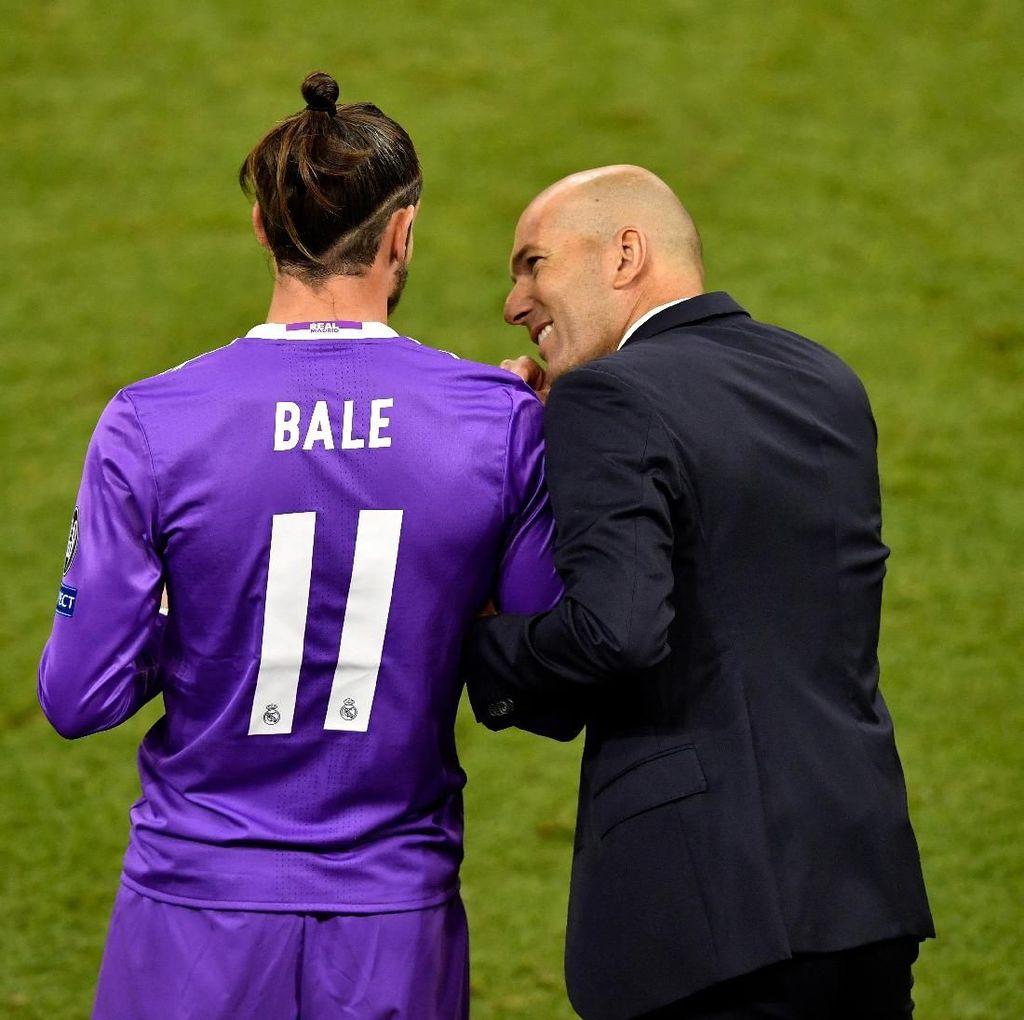 Zidane Tegaskan Bale Bahagia di Madrid
