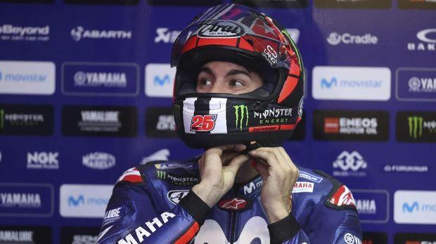 Marc Marquez minta maaf ke Maverick Vinales usai kualifikasi MotoGP Amerika Serikat.