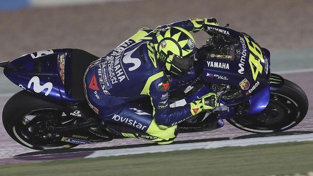 Valentino Rossi finis di posisi keempat pada MotoGP Amerika Serikat.