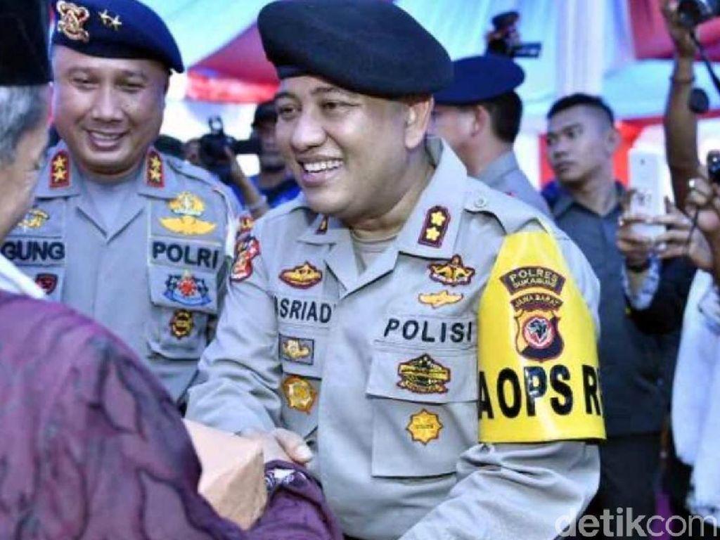 Polres Sukabumi Siap Hadapi Gugatan Rp 1 M Tersangka Sebar Hoax