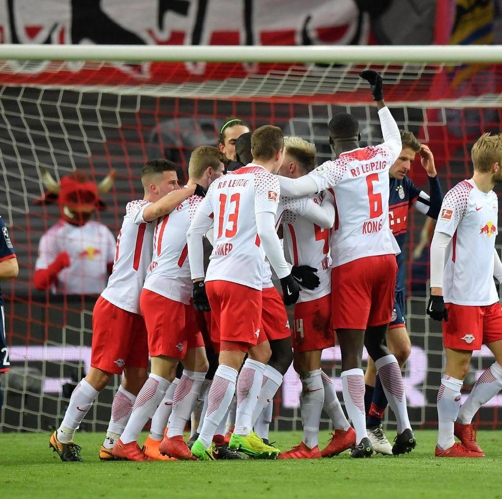 Leipzig Hentikan Keperkasaan Bayern