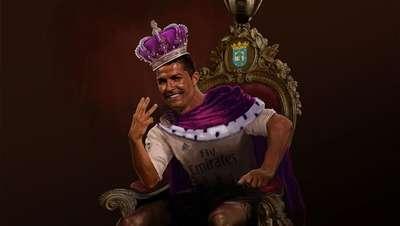 Meme: Ronaldo Si Raja Hat-trick