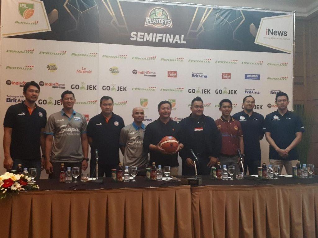 Semifinal IBL: 4 Tim Siap Tempur 100 Persen
