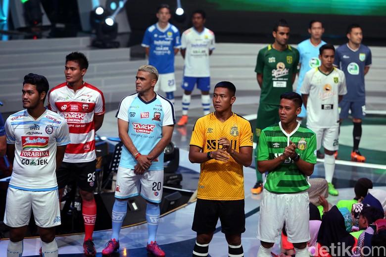 Goyang Dangdut Iringi Peluncuran Liga 1 2018