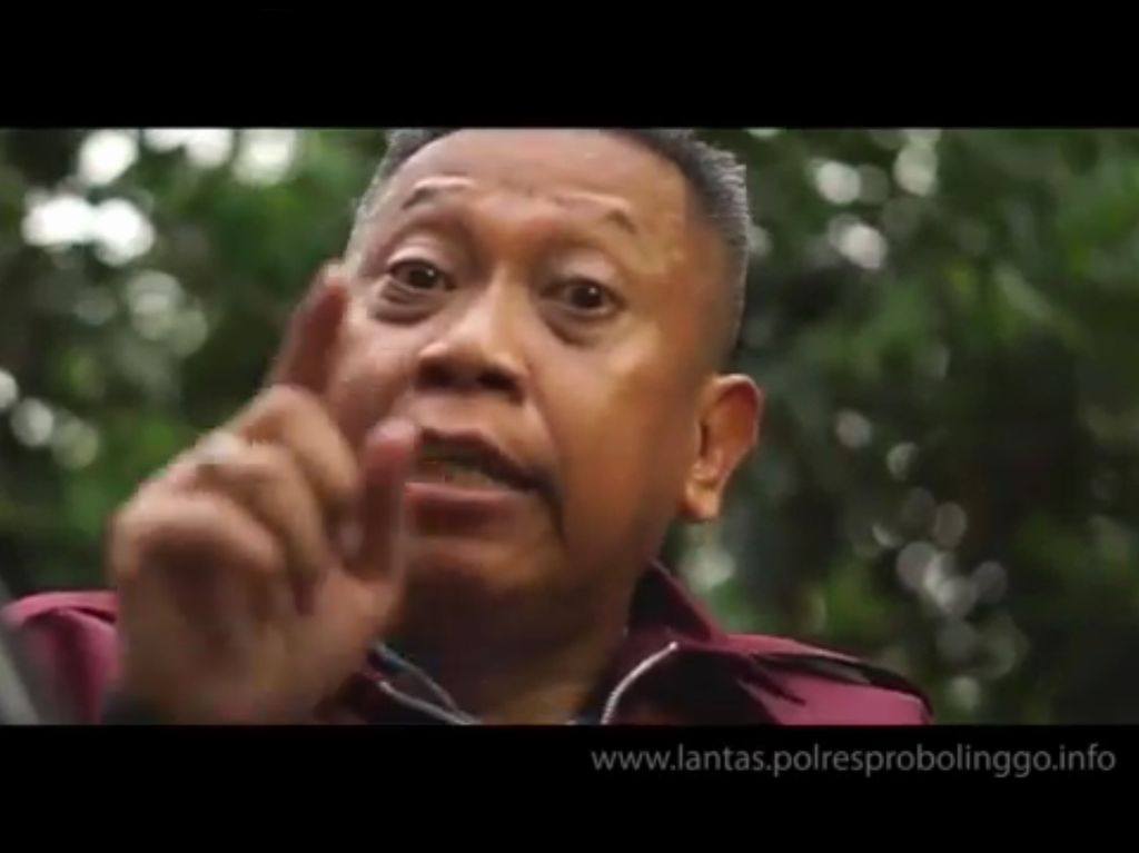 Tukul Arwana Terjaring Razia Operasi Lalin di Probolinggo