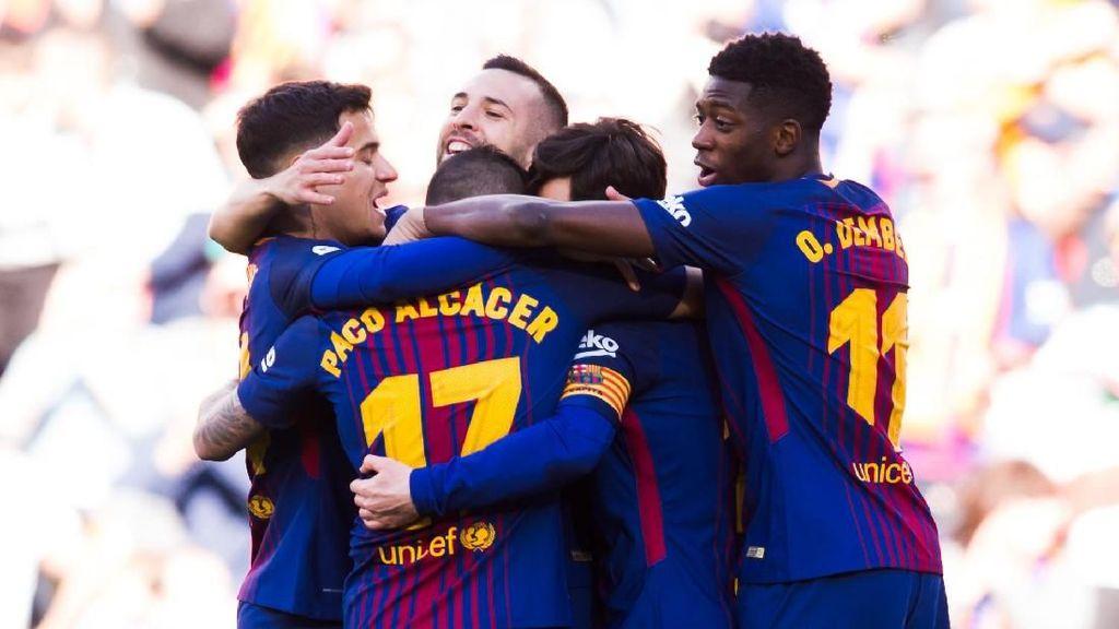 Kans Barca Kawinkan Titel La Liga, Gelar Pichichi, dan Trofi Zamora