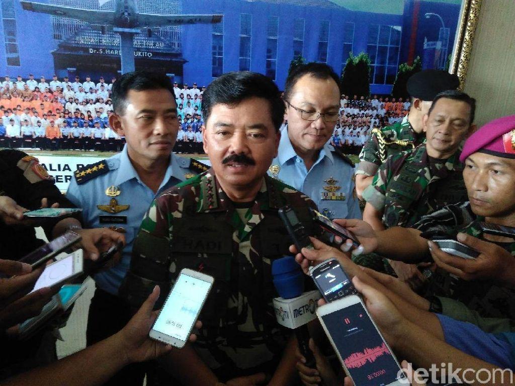 Soal Tunjangan Prajurit Naik, Panglima TNI: Sudah Ada Green Light
