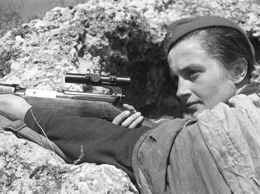 Pavlichenko, Perempuan Legenda Sniper Paling Mematikan Uni Soviet