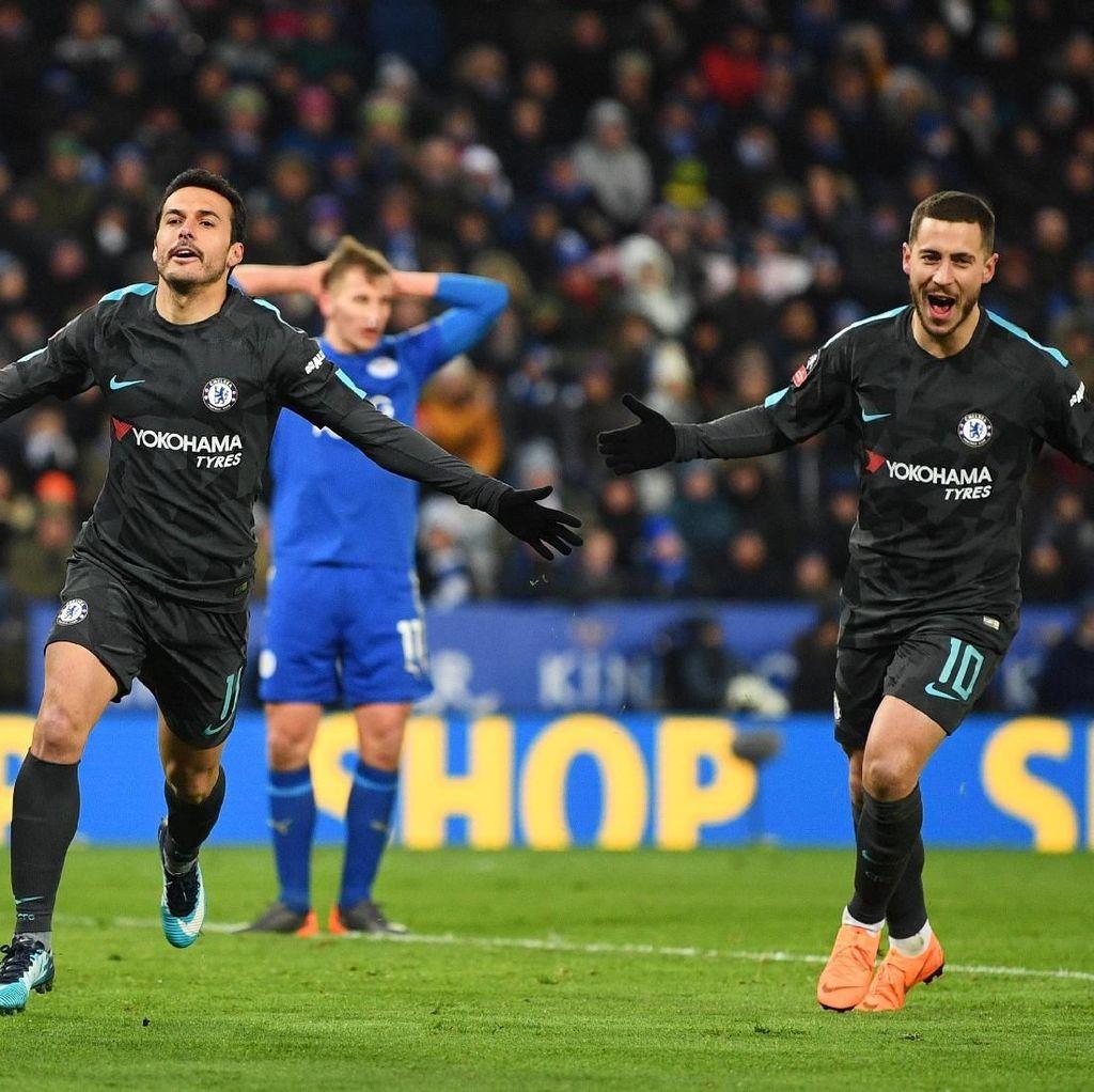 Leicester Pertanda Baik untuk Chelsea