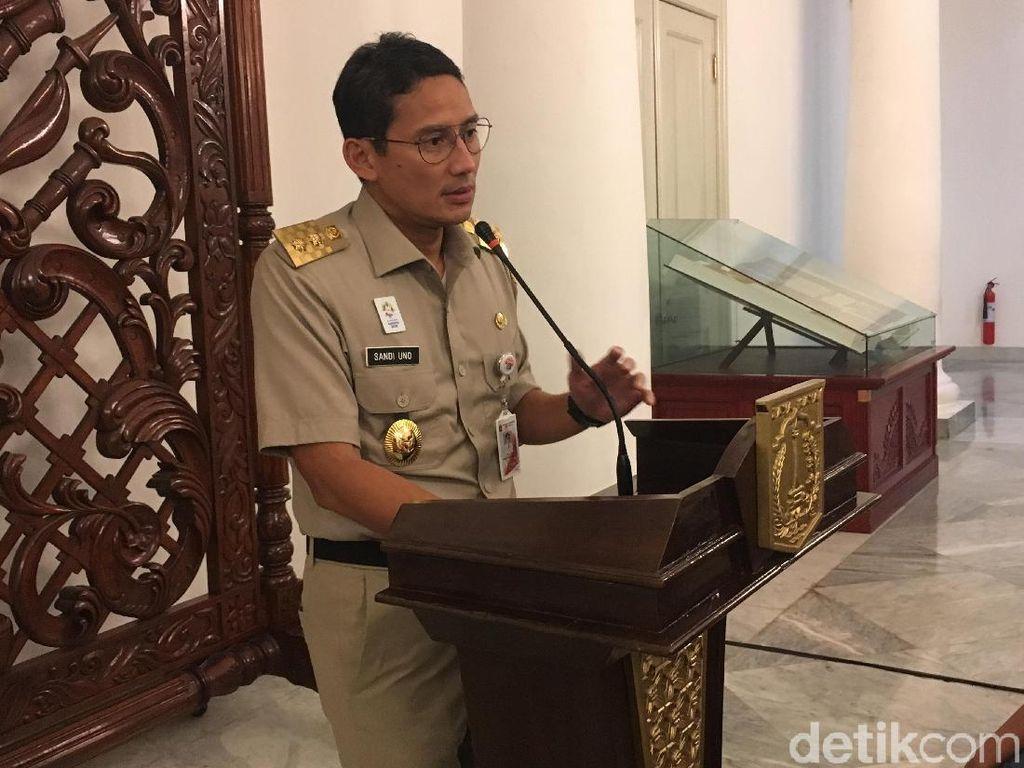 Dugaan Maladministrasi di Tn Abang, Sandi Tunggu Laporan Ombudsman