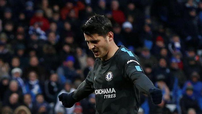 Alvaro Morata telah pulih 100 persen dari cedera punggung. (Foto: Andrew Yates/Reuters)