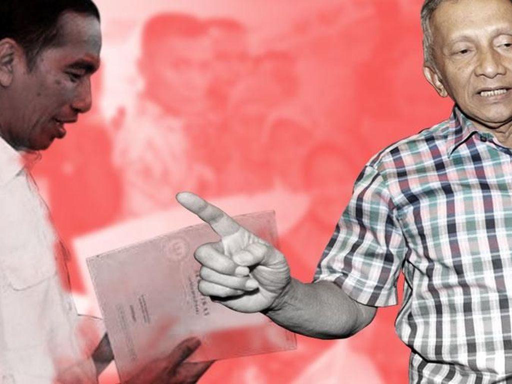 Menanti Pertemuan Amien Rais-Jokowi