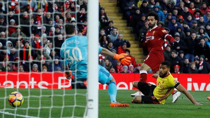 Liverpool memenangi tiga laga terakhir melawan Watford di Anfield dengan skor telak (Foto: Lee Smith/REUTERS)