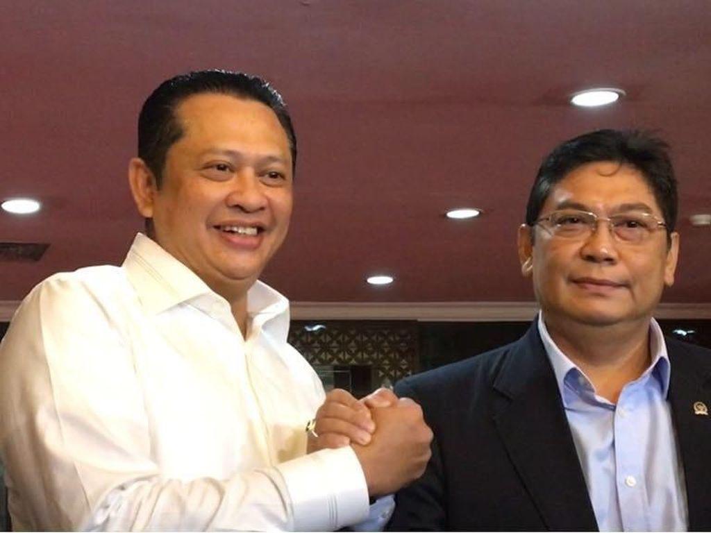 Dipilih Jadi Pimpinan DPR, Utut Beri Surat Penugasan ke Bamsoet