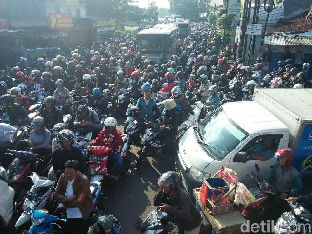 Bandung Kota Termacet Versi ADB, Polantas: Belum Terlalu Kok