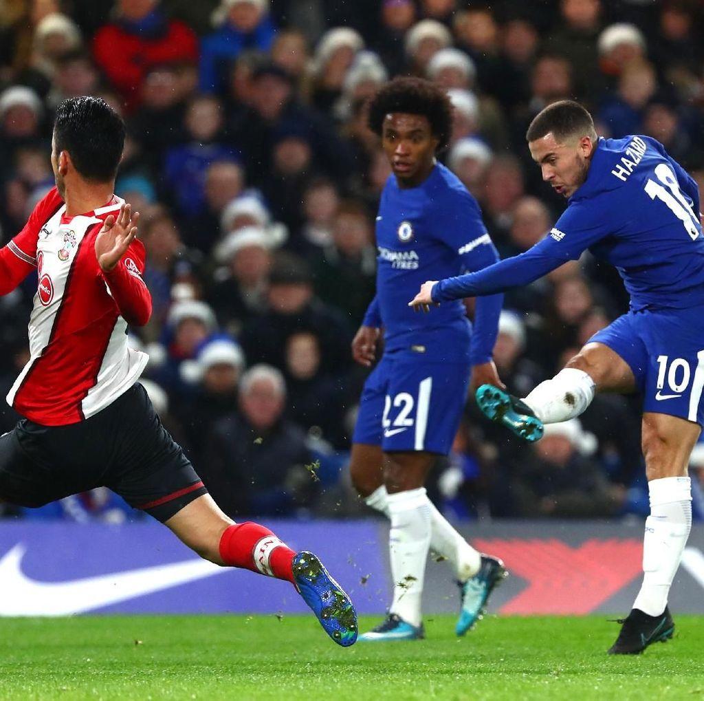 Chelsea Diunggulkan atas Southampton, Conte: City Saja Disingkirkan Wigan