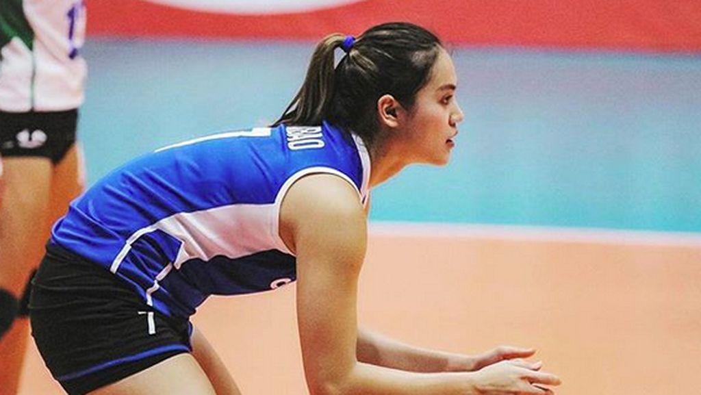 Olahraga Apa Ya, Biar Selincah Atlet Voli Cantik Michele Gumabao?