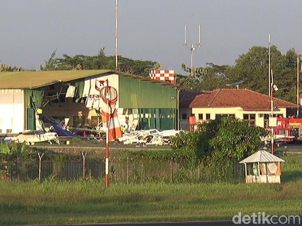 Pasca Pesawat Latih Jatuh, Bandara Cilacap Hari Ini Kembali Dibuka