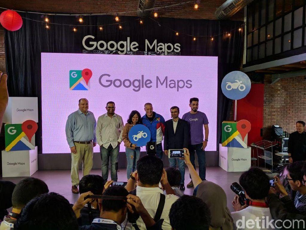Google Maps Bikin Rute Motor dan Ganjil-Genap Buat Indonesia