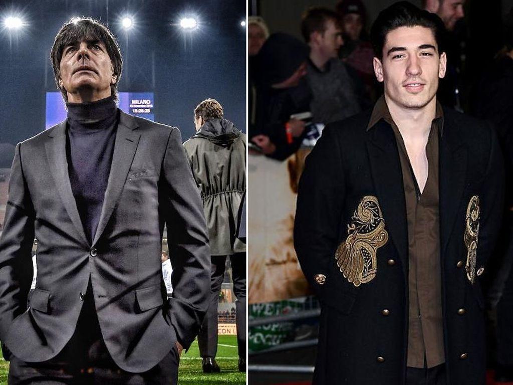 Dari Loew Sampai Bellerin, Sosok-sosok Melek Fesyen di Sepakbola