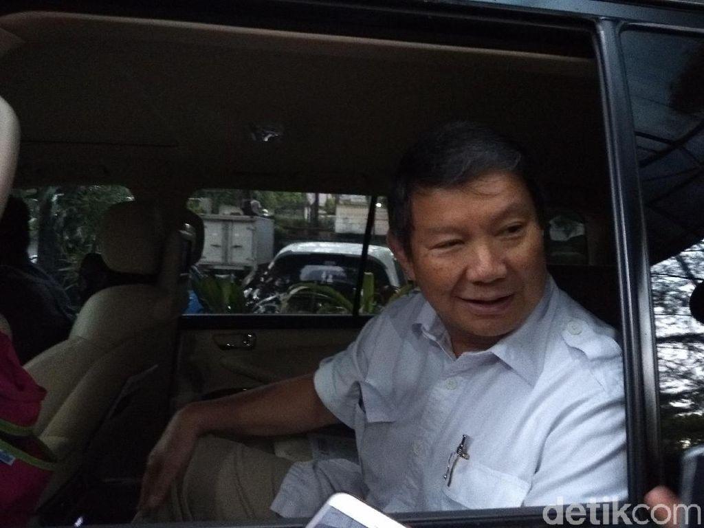 Hashim Djojohadikusumo Sambangi KPU Bakal Adukan soal DPT Ganda