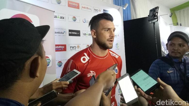 Marko Simic Tak Pasang Target Gol di Liga 1