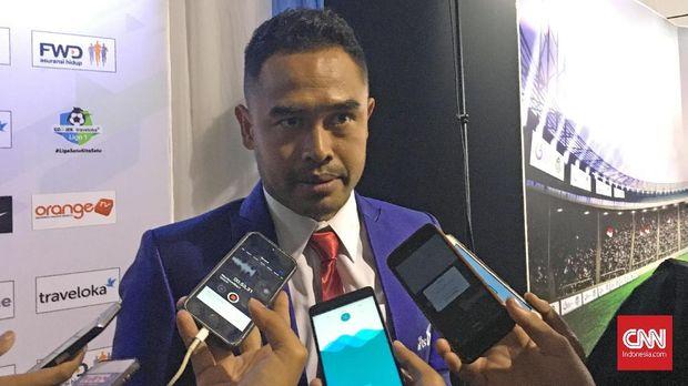 Mantan gelandang Timnas Indonesia, Ponaryo Astaman.