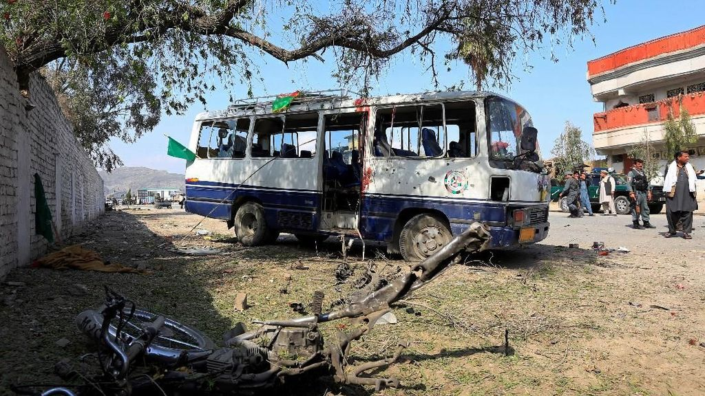 Bikin Panik! Bom Motor Meledak di Afghanistan