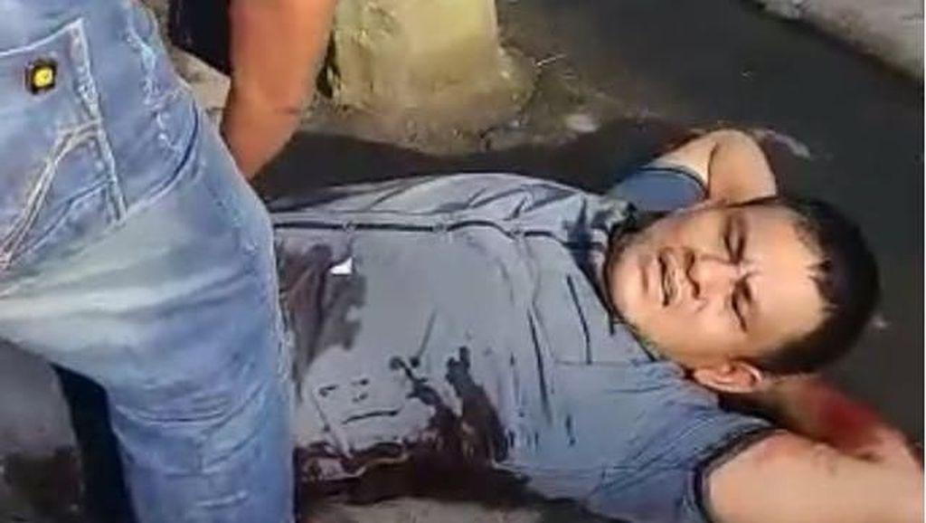 Dor! Foto Bandar Narkoba Terkapar Ditembak di Medan Pagi Ini