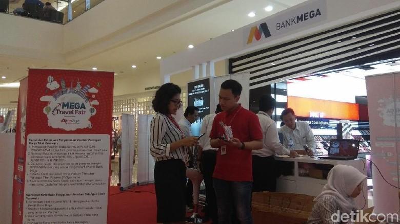 Suasana Mega Travel Fair Surabaya (Deni Prastyo Utomo/detikTravel)