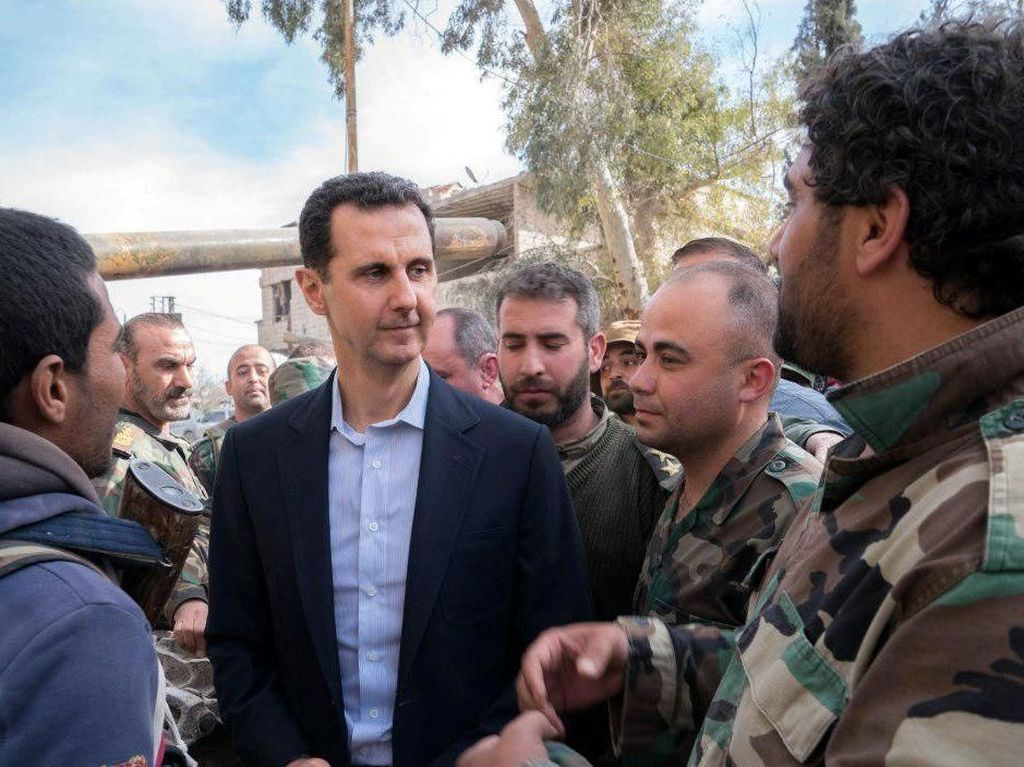 Dikatai Binatang oleh Trump, Ini Tanggapan Assad