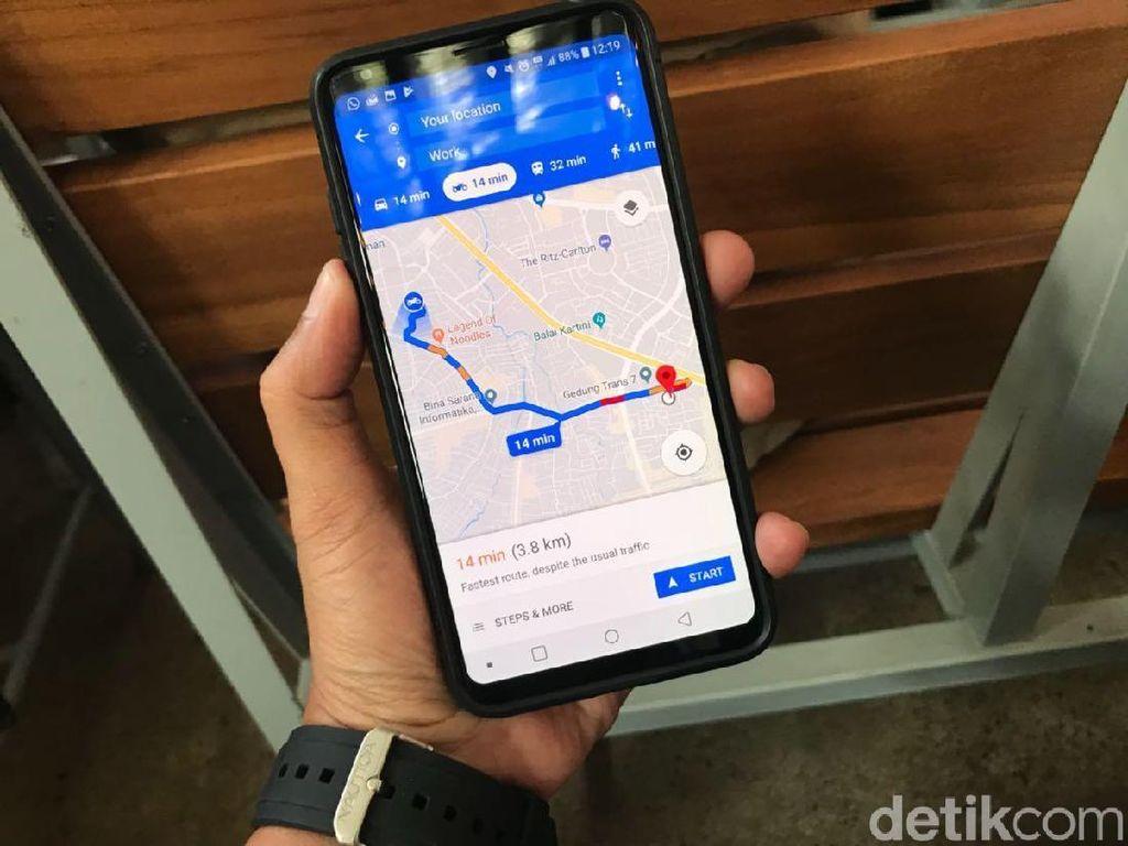 Mengacaukan Info Kemacetan di Google Maps, Gimana Caranya?