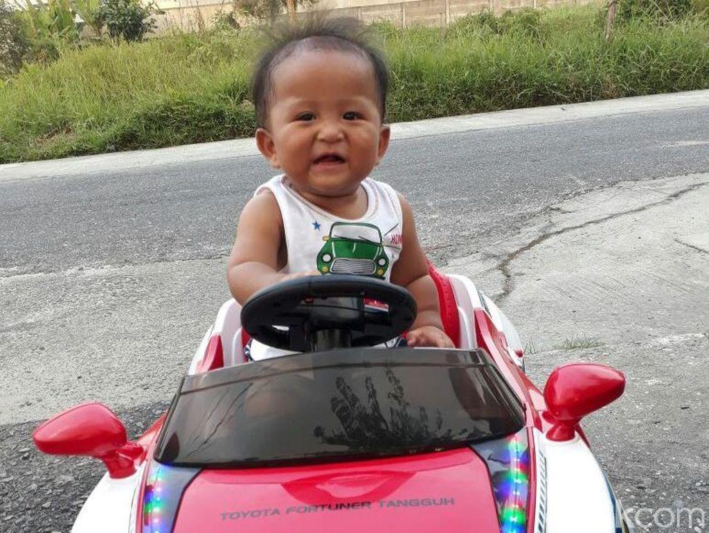 Bayi Diberi Nama Toyota Fortuner Tangguh, Ini Maknanya