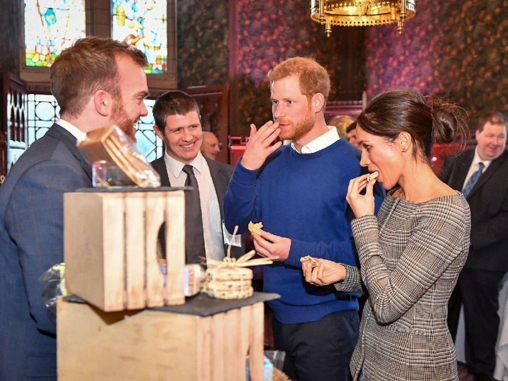 Ini Kue Pengantin Pilihan Pangeran Harry dan Meghan Markle untuk Pernikahan Mereka